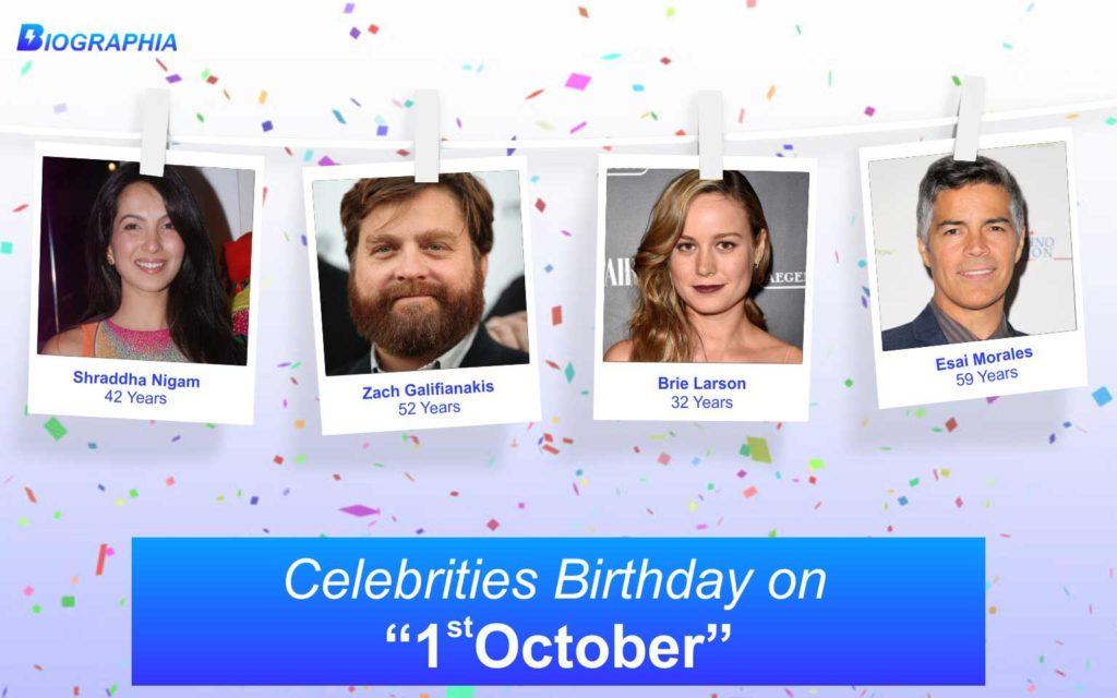 October 1 Famous Birthdays, Famous Celebrities Birthdays ...